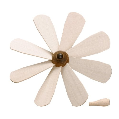 Replacement part accessory Zeidler pyramid Blade wheel fan impeller 14cm Ore Mountains NEW (Christmas Tree Replacement Parts compare prices)