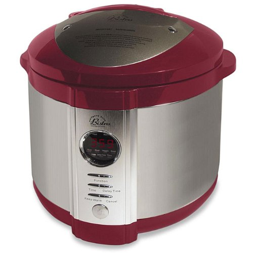 Pressure cookers wolfgang puck 5 quart electric pressure for Electric pressure cooker fish recipes