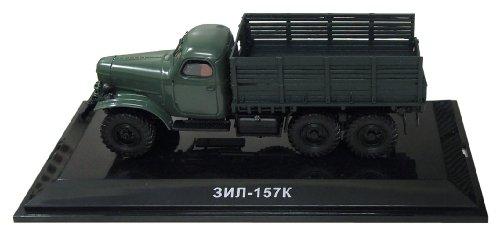 DIP 1/43 ZIL-157K 1961 (ウインチ無し) ダークグリーン