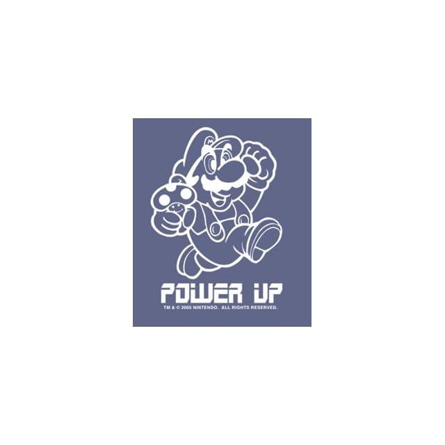 Nintendo Super Mario Bros. Power Up Window Decal Sticker 96 584