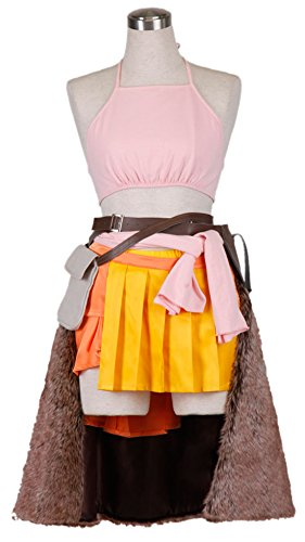[Going Coser Final Fantasy XIII Oerba Dia Vanille Cosplay Costume (Small, Multi)] (Vanille Cosplay Costume)