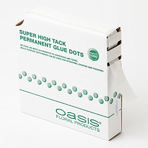 OASISÃ'Â Super High Tack Permanent Glue Dots (1000 dots) by Smithers Oasis (Oasis Glue Dots compare prices)