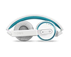 RAPOO H6080  Bluetooth Foldable Headset (Blue)