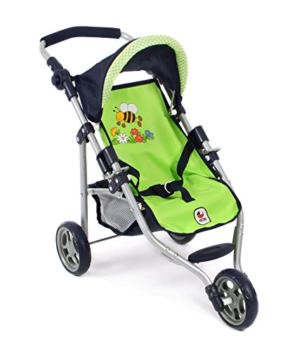 612 16 - Jogging-Buggy Lola, Puppenwagen, Bumblebee, grün