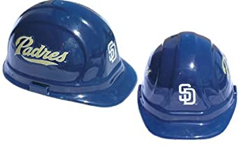 San Diego Padres - MLB Team Logo Hard Hat Helmet by Tasco