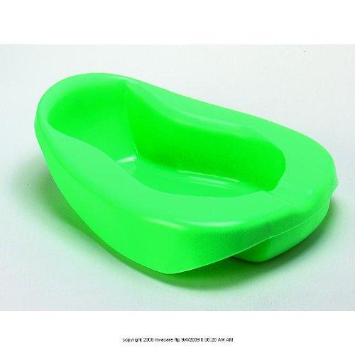 Disposable Plastic Bed Pans [Bedpan Plstc Reg Retail Pk] front-295716