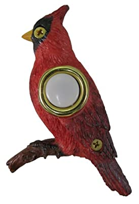 Company's Coming DBP-020 Cardinal Painted Doorbell Cover