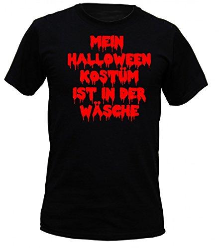 t shirt horror schwarz mein halloween kost m ist in der. Black Bedroom Furniture Sets. Home Design Ideas