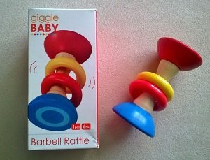 Gigglebaby Dome Rattle