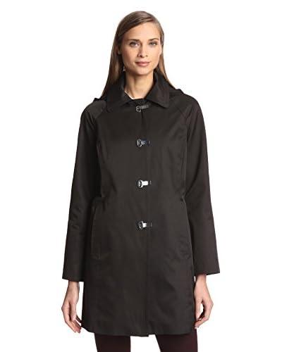 London Fog Women's Clip Coat with Hood