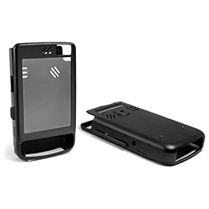BoxWave HP iPAQ 212 AluArmor Jacket - Rugged, Heavy Duty Anodized Aluminum Metal Case for Slim and Durable Protection - HP iPAQ 212 Cases and Covers (Black)