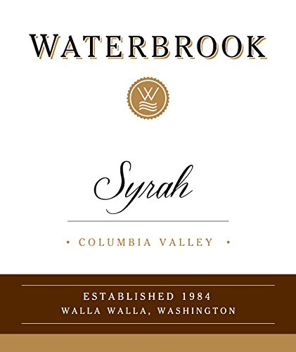 2012 Waterbrook Syrah, Columbia Valley 750Ml