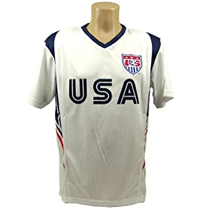 Team USA Soccer Adult Small Jersey by Rhinox Group Sz S T1Q17-L