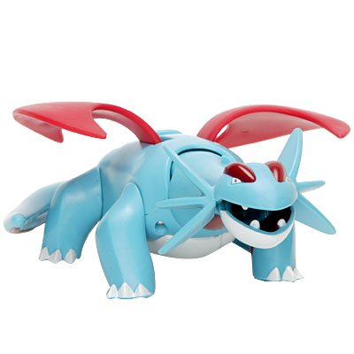 Picture of Hasbro Pokemon Deluxe 5 Inch Action Figure Salamence with Dragonbreath Attack (B000JWU97I) (Pokemon Action Figures)