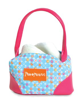 Pawaparazzi Fashion Pet Carrier - Blue Circles - 1