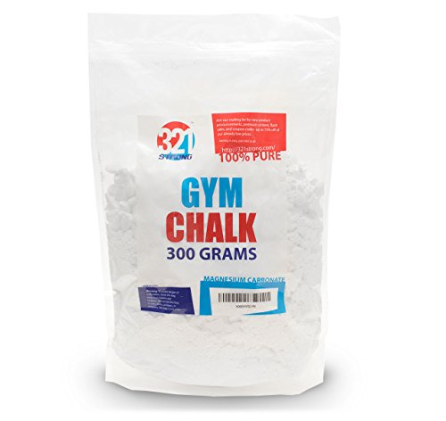 300 Gram ( 10.58 oz ) Bag of Loose Gym Chalk