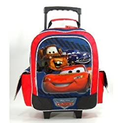 "Disney Cars Toddler 12"" Rolling Backpack - Super Drift Star"