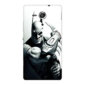 Ajay Enterprises Bat Ready for Action Back Case Cover for Sony Xperia SP
