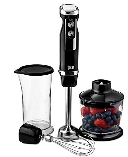 Read About Epica Top Rated Extra Power Heavy Duty Immersion Hand Blender 4-in-1 with 3 Year Warranty