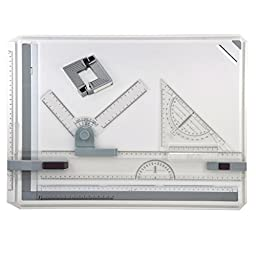 Multi Function A3 Rapid Drawing Board College School Parallel Motion & Set Square A3 Drawing Box