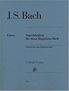 Notebook For Anna Magdalena Bach - Piano - Hn 349 by G. Henle Verlag