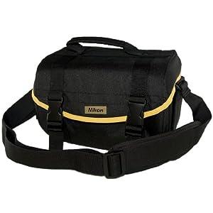 Nikon SLR Camera Multi Compartment Gadget Bag with Pockets & Strap for Nikon SLR Digital Cameras
