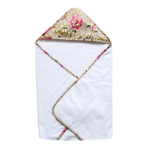 Trend Lab Waverly Jazzberry Bouquet Hooded Towel