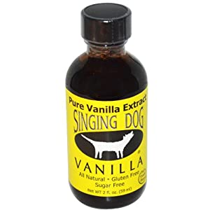 Singing Dog Vanilla Extract 2 oz