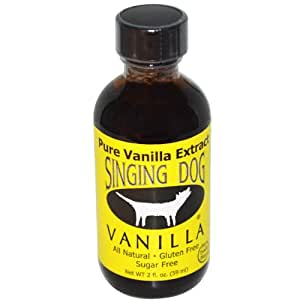 NuNaturals Singing Dog Pure Vanilla Extract 2 fl oz