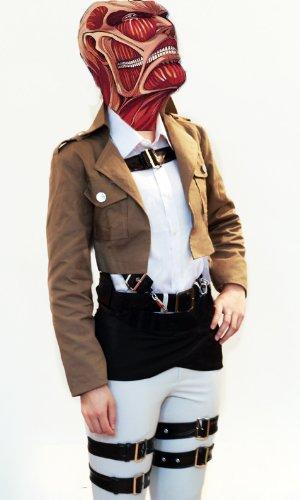 コスプレ衣装 アニメ  進撃の巨人 サシャ・ブラウス  エレン・イェーガー グッズ  二種類のインナー選択可能 女性Mサイズ