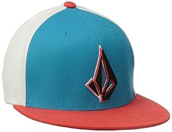Volcom Men's Layer J-Fit Hat, Atlantic, Small/Medium