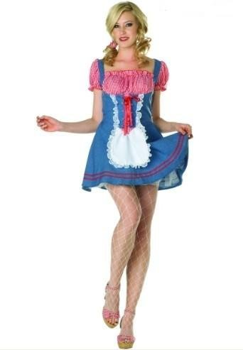 RG Costumes 81659-XL Sassy Square Dance Adult Costume- Size XL