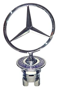 Oes Genuine Mercedes-benz Hood Star Emblem Assembly from OES Genuine