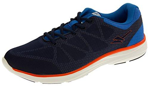 Gola Uomo Blu Navy, Blu E Arancione Sneakers Ice Ama 679 EU 46