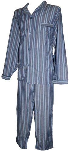Espionage Traditional Striped Long Pyjamas PJ032