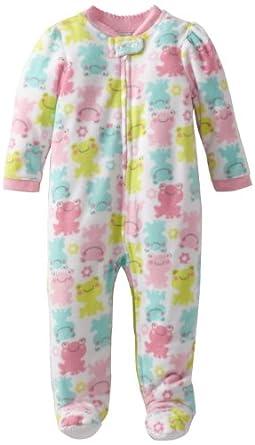 Amazon Little Me Baby Girls Frog Blanket Sleeper