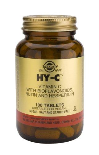 Solgar-Hy-CTM Tablets (600 mg Vitamin C with 100 mg Bioflavonoids) 100