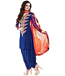 indian e fashion Women's Georgette Salwar suits