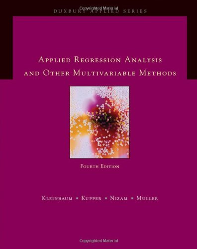Applied Regression Analysis and Other Multivariable...