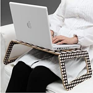 ikea laptop support black white notebook computer stands office products. Black Bedroom Furniture Sets. Home Design Ideas