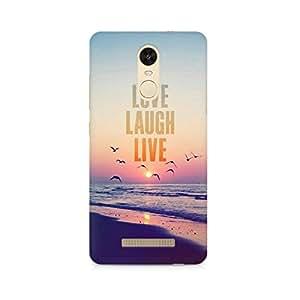 Ebby LLL Premium Printed Case For Xiaomi Redmi Note 3