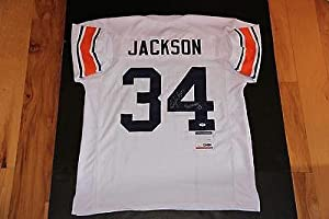 Bo Jackson Autographed Jersey - Inscribed War Eagle Coa Auburn - PSA DNA Certified -... by Sports+Memorabilia