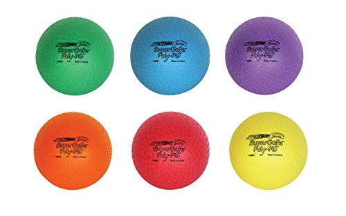 Sportime-SuperSafe-PolyPG-Ball-8-12-inch-Set-of-6-Assorted-Colors