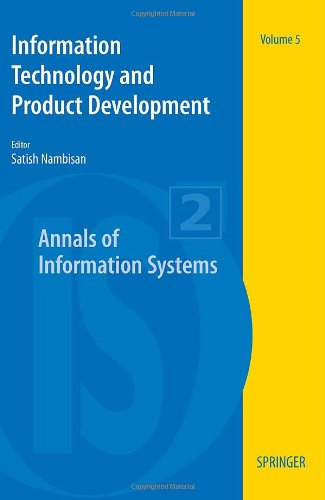 Information Technology and Product Development (Annals of Information Systems)