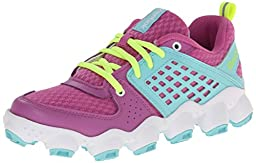 Reebok ATV19 Ultimate II PS Running Shoe (Little Kid),Ultraberry/Crystal Blue/Solar Yellow/White,2.5 M US Little Kid