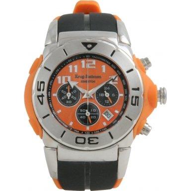 Krug Baumen 160502KM Krug-Baumen Kingston Orange Sports Chronograph Watch - Model 160502KM