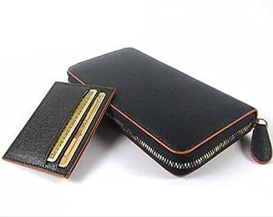 ビームス スクエア BEAMZ SQUARE メンズ ラウンドファスナー 長財布 BS-18701BK/BR ブラック