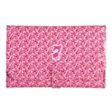 Tuc Tuc Pink Portable Changing Pad and Diaper Kit. Natural Berries Collection.