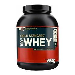 Optimum Nutrition社 100%ホエイゴールドスタンダードプロテイン チョコレート 2273g [並行輸入品]