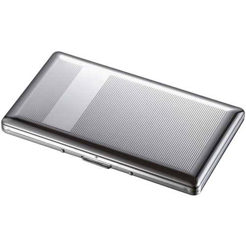 Chase Chrome 120S Cigarette Case - Holds 9 120 Size Cigarettes